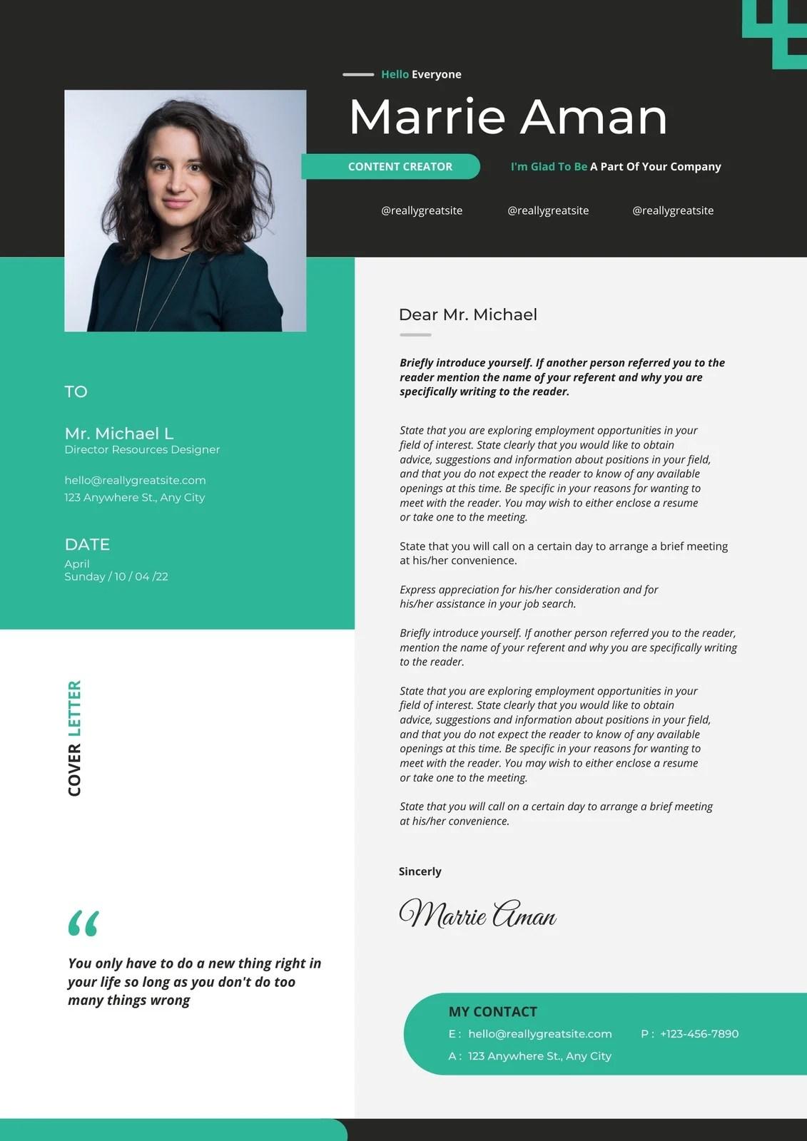 Advanced sky · green advanced resume template. Free Printable Customizable Minimalist Resume Templates Canva