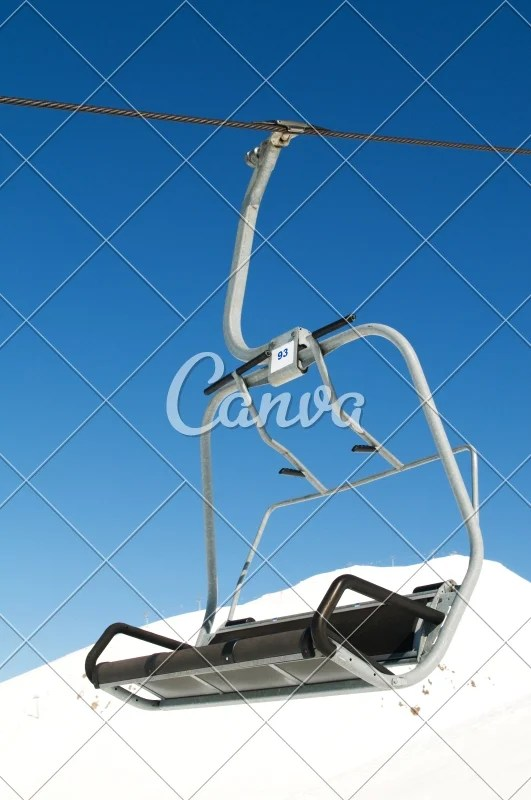 buy ski lift chair kohls outdoor rocking chairs on bright winter day photos by canva purchase this photo