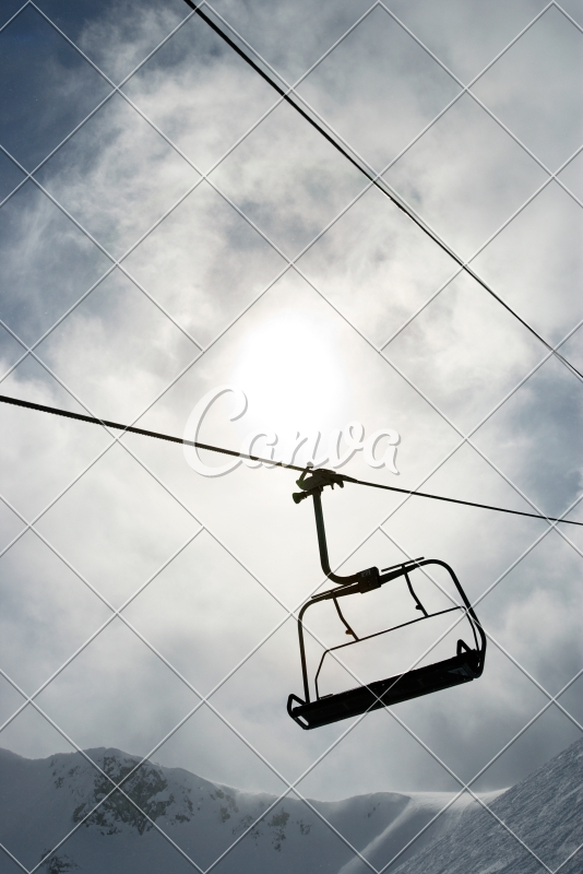buy ski lift chair graco high replacement cover uk empty photos by canva purchase this photo