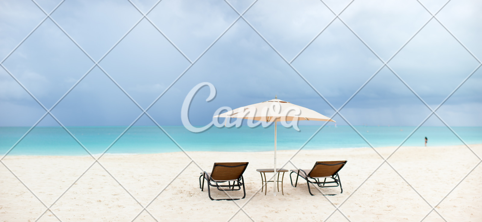 tropical beach panorama photos