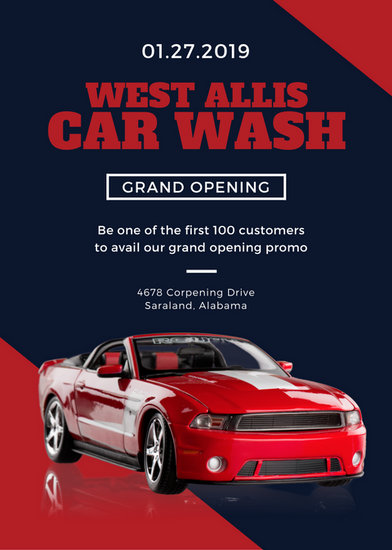 Customize 40 Grand Opening Flyer templates online  Canva