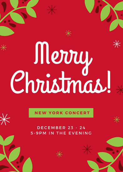 Customize 72 Christmas Flyer Templates Online Canva