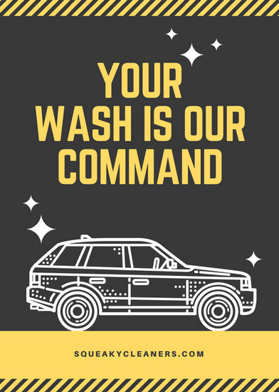 Customize 77 Car Wash Flyer Templates Online Canva
