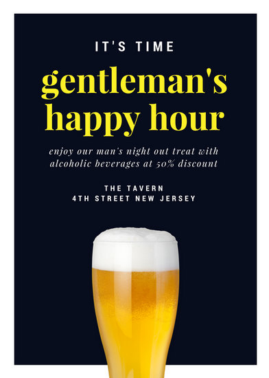 Customize 171 Happy Hour Flyer templates online  Canva