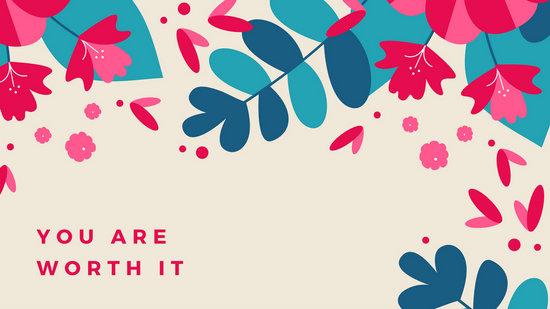 Cute Rustic Fall Wallpapers For Laptop Customize 91 Floral Desktop Wallpaper Templates Online