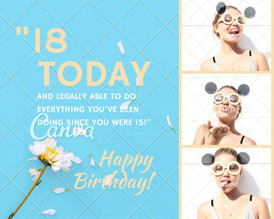 Customize 791 Birthday Photo Collage Templates Online Canva