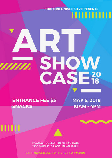 Art Event Flyer Templates By Canva