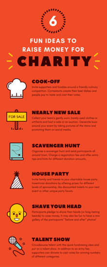 Fun Ideas For Charity Infographic Templates By Canva