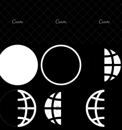 earth globe diagram icon [ 2400 x 2400 Pixel ]