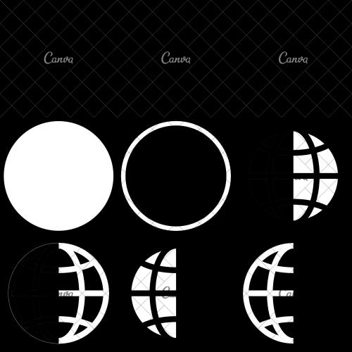 small resolution of earth globe diagram icon