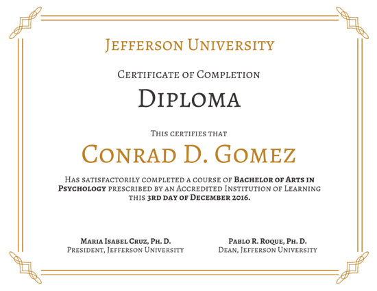University Diploma Certificate Templates By Canva