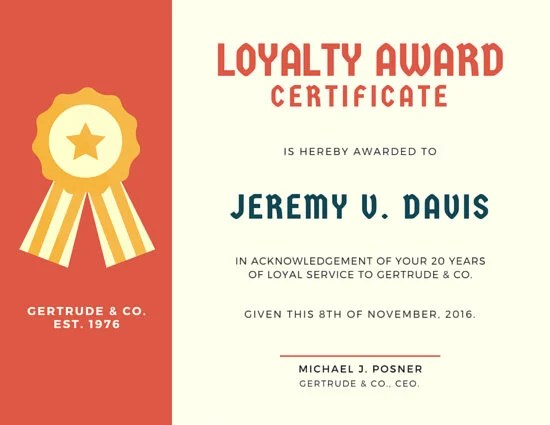 Customize 534 Award Certificate Templates Online Canva