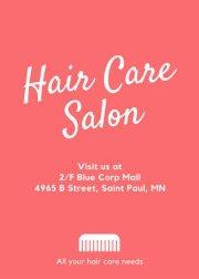 pink and purple women's hair salon