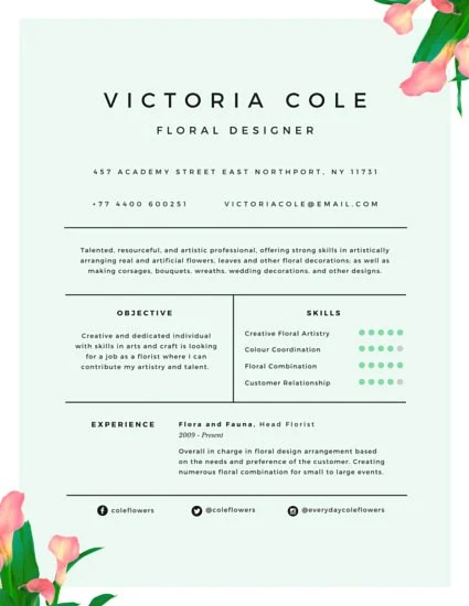 Customize 298 Professional Resume Templates Online Canva