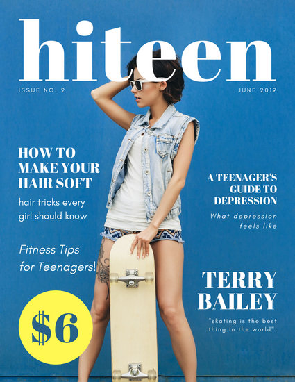 Customize 80 Teen Magazine Cover Templates Online Canva
