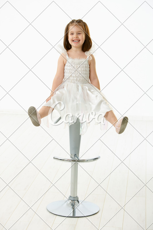 little girl chairs rocking at big lots happy sitting on chair photos by canva