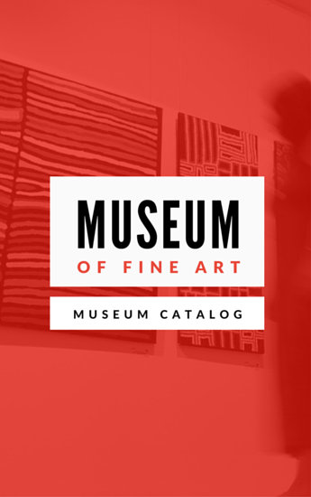 Modern Museum Catalog Ebook  Templates by Canva