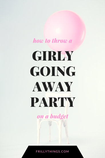 Girly Going Away Party Blog Graphic Templates By Canva