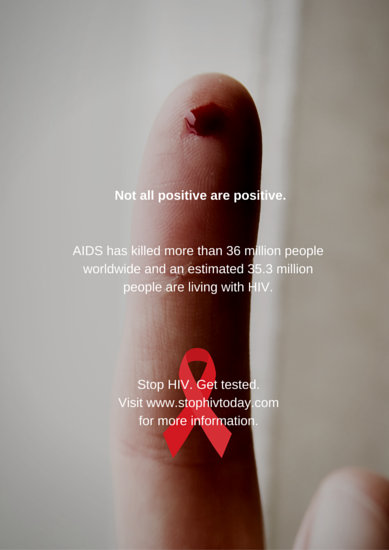 HIV Campaign Poster  Templates by Canva