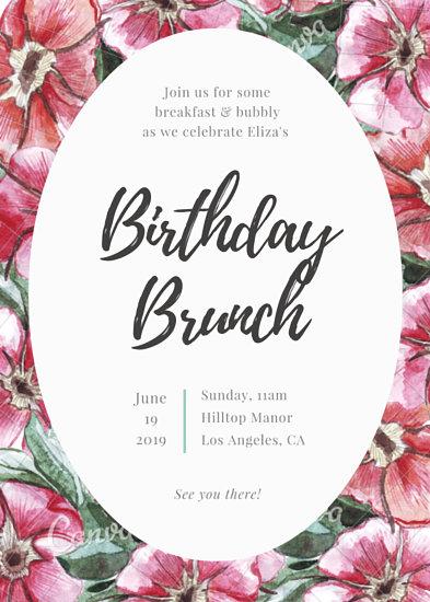 Customize 1 884 Birthday Invitation Templates Online Canva