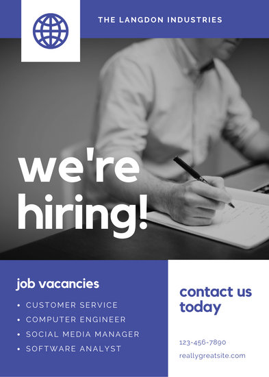 Customize 70 Job Vacancy Announcement templates online