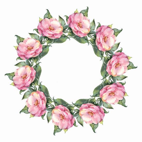 floral wreath free premium