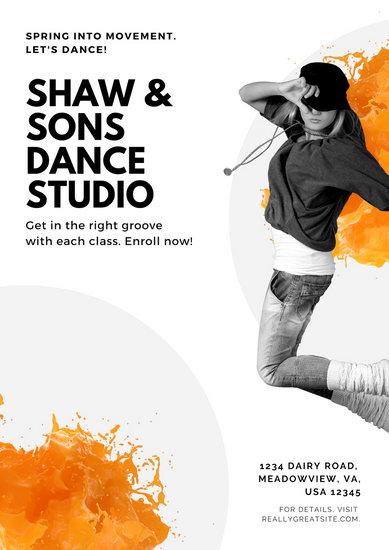 Car Workshop Wallpapers Customize 51 Dance Poster Templates Online Canva