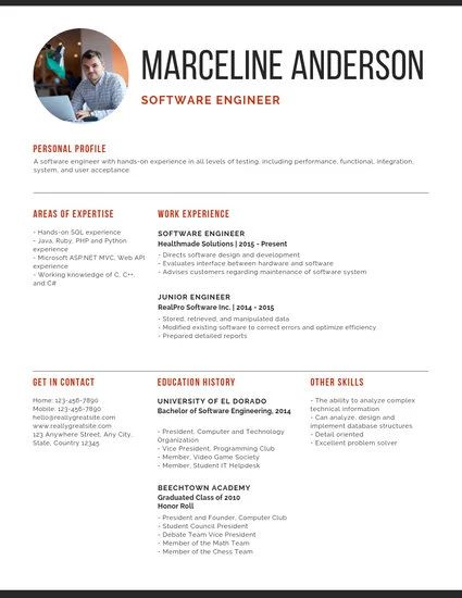 best free resume template for mac