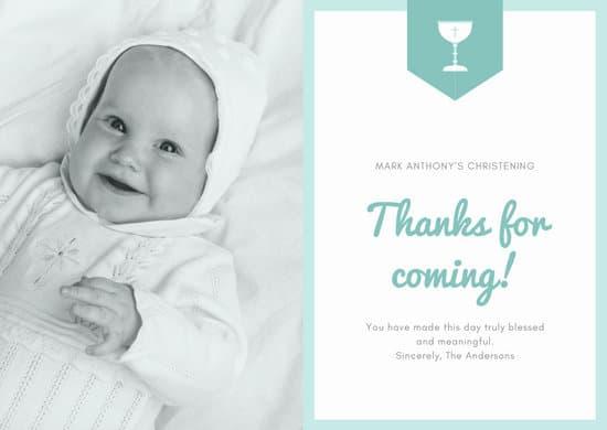 customize 65 baptism card