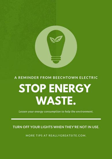 Customize 48 Environmental Protection Poster Templates