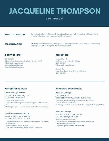 best resume templates on mac