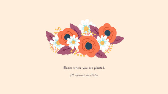 Cute Pretty Flower Calendar Wallpaper Customize 115 Minimalist Desktop Wallpaper Templates