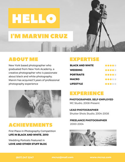 Customize 397 Creative Resume Templates Online Canva