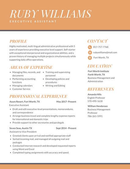 Customize 298 Professional Resume Templates Online Canva