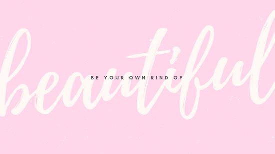 canva pink pastel script beautiful motivational quote desktop wallpaper MACB3 k0iVw