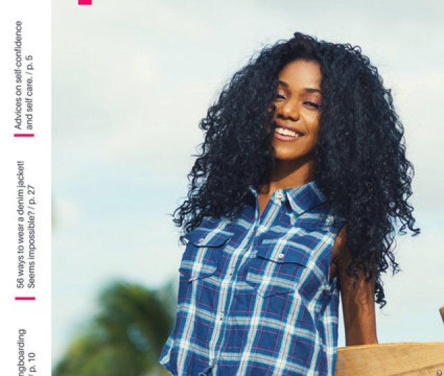 Hot Pink Longboard Queen Girl Teen Magazine