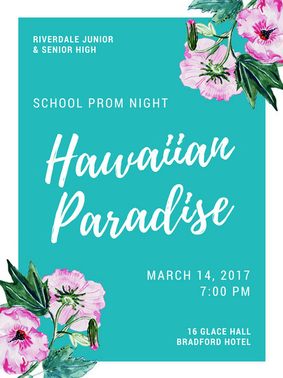Prom Poster Templates  Canva