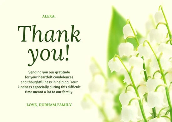 Customize 818 Thank You Card Templates Online Canva