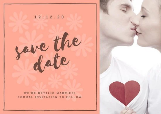 Customize 4982 Save The Date Invitation Templates Online