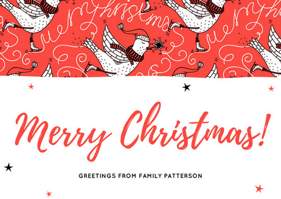 Customize 32 Art Christmas Card Templates Online Canva