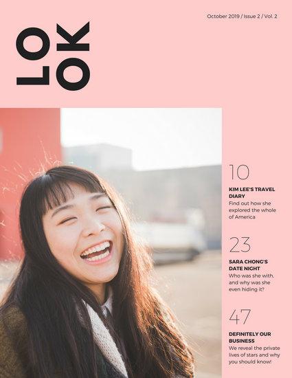 Magazine Cover Templates Canva