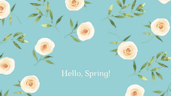 Cute Wallpapers Pineapple Watermelon Customize 46 Spring Desktop Wallpaper Templates Online