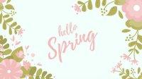 Customize 91+ Floral Desktop Wallpaper templates online ...