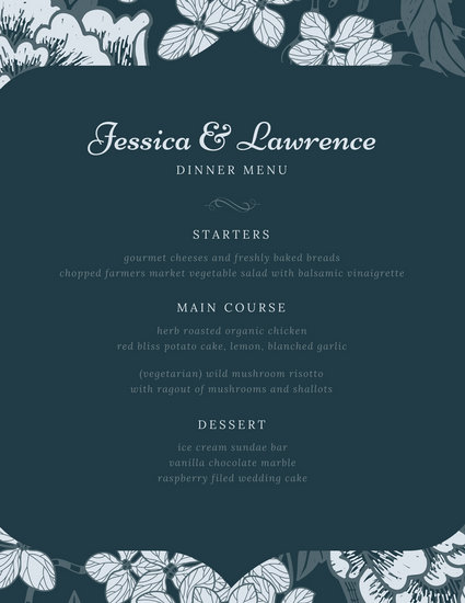 Customize 70 Fancy Menu Templates Online Canva