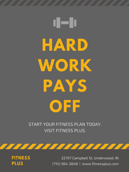 Customize 142 Gym Poster templates online  Canva