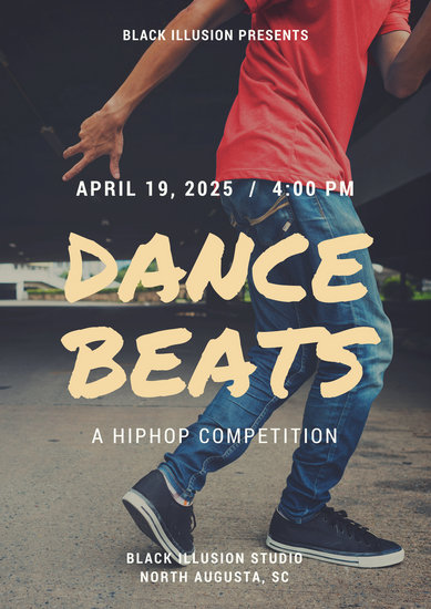 Customize 85 Dance Poster Templates Online Canva