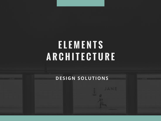Customize 83 Architecture Presentation templates online