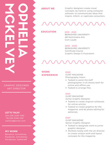 are creative resume templates important
