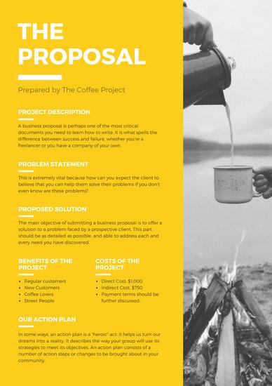Customize 202 Proposal templates online  Canva
