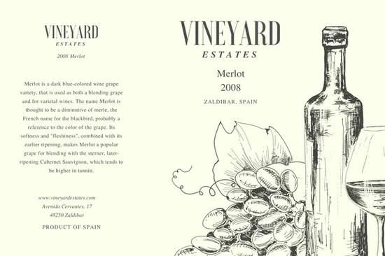 Customize 56 Wine Label Templates Online Canva